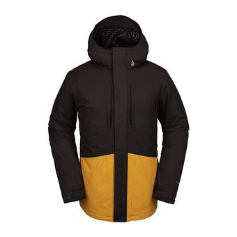Volcom SLYLY INS - Chaqueta de snow hombre vintage black