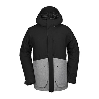 Volcom SCORTCH INS - Giacca snowbord Uomo heather grey