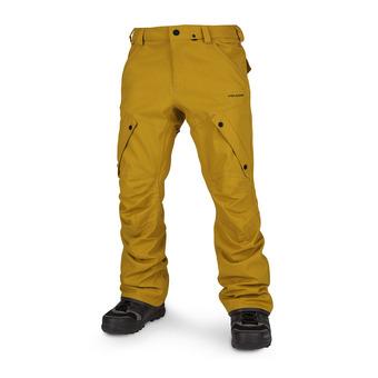 Volcom ARTICULATED - Pantalón de snow hombre resin gold