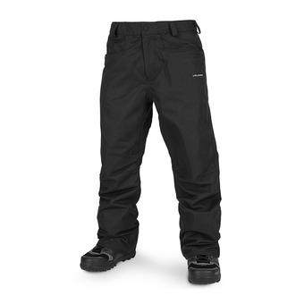 Volcom CARBON - Pantalón de snow hombre black
