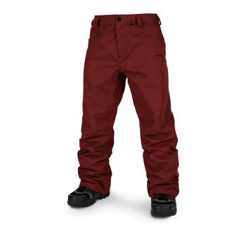 Volcom CARBON - Pantalón de snow hombre burnt red
