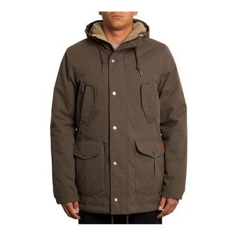 Volcom STARGET 5K - Parka Uomo major brown