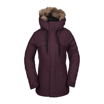 Volcom SHADOW INS - Snow Jacket - Women's - merlot