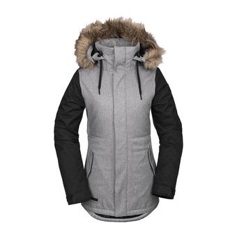 Volcom FAWN INS - Snowboard Jacket - Women's - heather grey