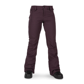 Volcom SPECIES STRETCH - Snow Pants - Women's - merlot