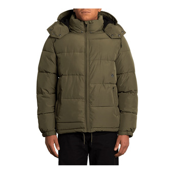 Volcom ARTIC LOON 5K - Down Jacket - Men's - army green combo
