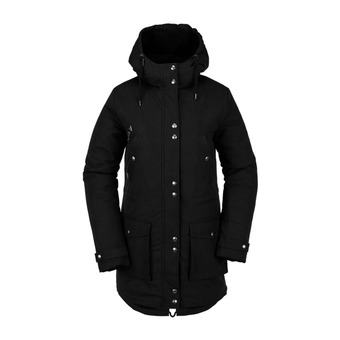 WALK ON BY 5K PARKA Femme BLACK