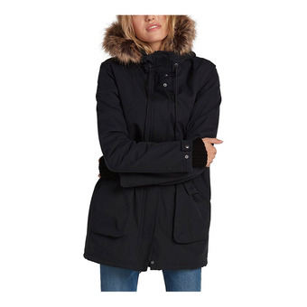 Volcom LESS IS MORE 5K - Parka Donna black