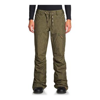 Roxy NADIA - Pantalon ski Femme ivy green