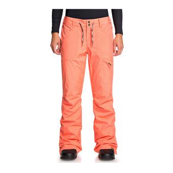 Roxy NADIA - Pantalon ski Femme living coral