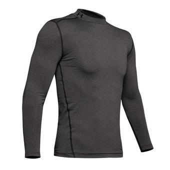 Under Armour CG ARMOUR MOCK - Camiseta hombre carbon heather