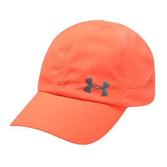 Under Armour FLY BY - Gorra mujer peach plasma