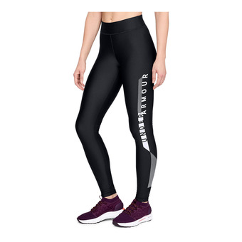 Under Armour HG ARMOUR GRAPHIC - Mallas mujer black