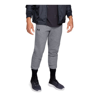 Under Armour UNSTOPPABLE 2X KNIT - Pantaloni da tuta Uomo steel
