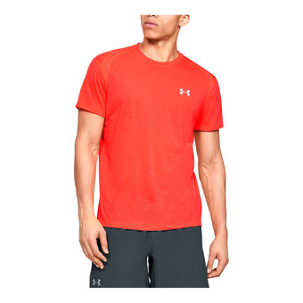 UA STREAKER 2.0 SHORTSLEEVE-RED Homme Beta Red1326579-632