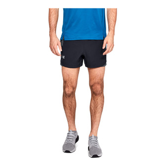 Under Armour QUALIFIER SPEEDPOCKET 5'' - Short hombre black