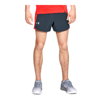 UA QUALIFIER SPEEDPOCKET 5'' SHORT-GRY Homme Wire1326599-073