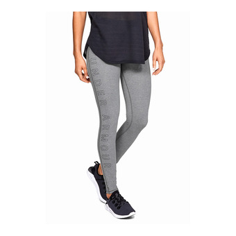 Under Armour FAVORITE WM AR - Legging Femme pitch gray medium heather
