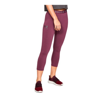 Under Armour FAVORITE GRAPHIC - Piratas mujer level purple