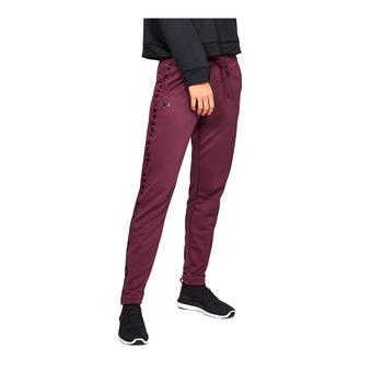 Under Armour TECH TERRY - Pantaloni da tuta Donna level purple