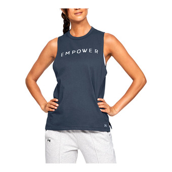 GRAPHIC EMPOWER MUSCLE SL-GRY Femme Downpour Gray1344685-044