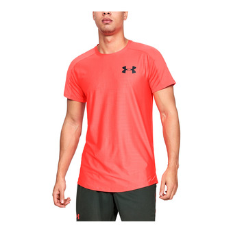 Under Armour MK1 EMBOSS - Maillot Homme beta red