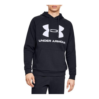 Under Armour RIVAL FLEECE SPORTSTYLE LOGO - Sweat Homme black