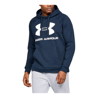 RIVAL FLEECE SPORTSTYLE LOGO HOODIE-NVY Homme Academy1345628-408