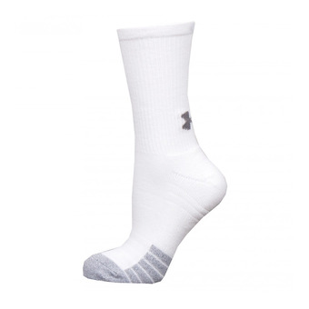Under Armour HEATGEAR CREW - Chaussettes x3 white