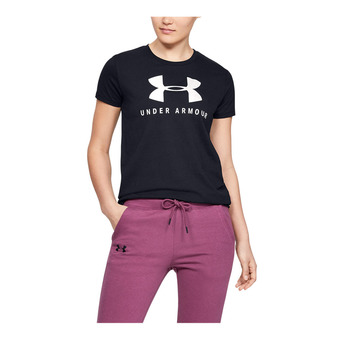 Under Armour GRAPHIC SPORTSTYLE CLASSIC CREW - T-shirt Donna black