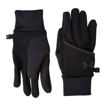 Under Armour RUN - Gants convertibles Homme black