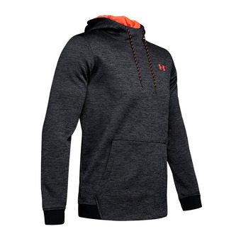 Under Armour ARMOUR FLEECE TWIST PO - Felpa Uomo black