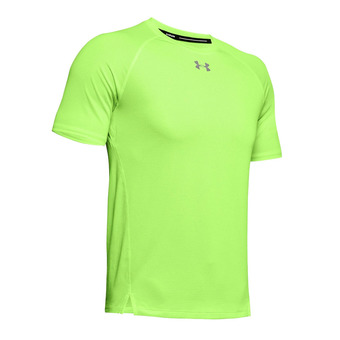 Under Armour QUALIFIER - Maillot Homme lime light