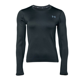 UA Qualifier Coldgear Long Sleeve-BLK Femme Black1344062-001
