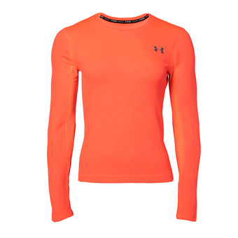 Under Armour QUALIFIER COLDGEAR - Camiseta mujer beta red