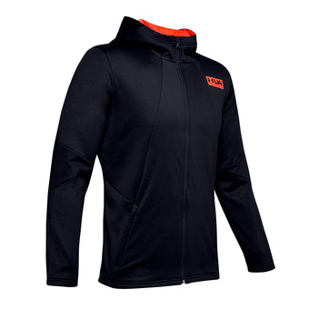 Under Armour CG FLEECE - Sudadera hombre black