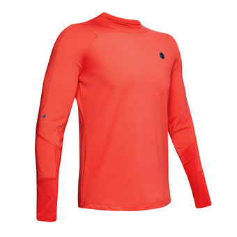Under Armour CG RUSH MOCK - Maillot Homme martian red