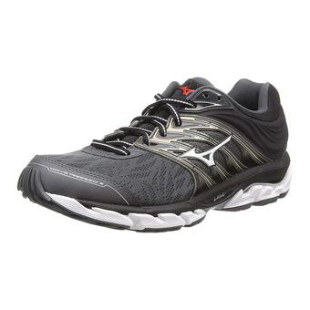 Mizuno WAVE PARADOX 5 - Chaussures running Homme qshade/ggray/magnet