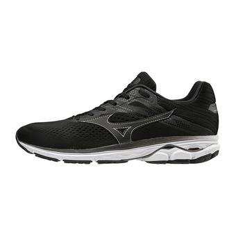 Mizuno WAVE RIDER 23 - Zapatillas de running hombre  blk/blk/darkshadow