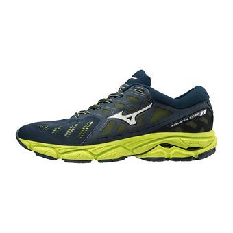Mizuno WAVE ULTIMA 11 - Zapatillas de running hombre dressblues/vblue/limepun