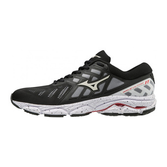 Mizuno WAVE ULTIMA 11 - Zapatillas de running hombre black/white/tomato