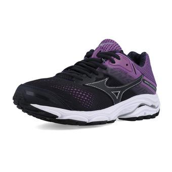 Mizuno WAVE INSPIRE 15 - Chaussures running Femme bgraphite/bgraphite/cvio