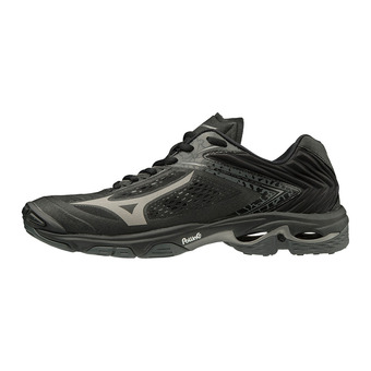 Mizuno WAVE LIGHTNING Z5 -  Zapatillas de voleibol blk/metshadow/darkshadow