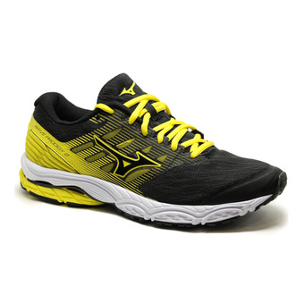Mizuno WAVE PRODIGY 2 - Chaussures running Homme black/black/byellow