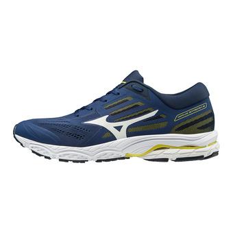 Mizuno WAVE STREAM 2 - Zapatillas de running hombre eblue/wht/dressblues