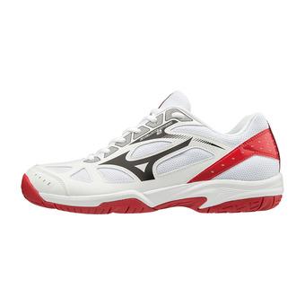 Mizuno CYCLONE SPEED 2 - Zapatillas de voleibol wht/blk/red186c
