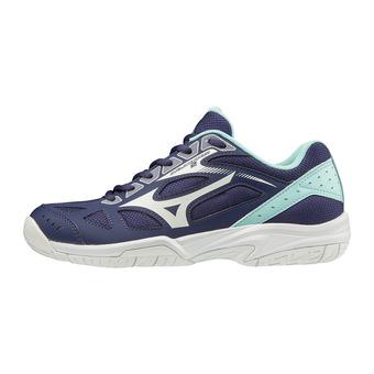Mizuno CYCLONE SPEED 2 -  Zapatillas de voleibol mujer astralaura/wht/bluelight