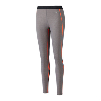 Wool Long Tight Femme FineGrey/F.Coral