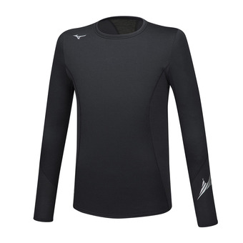 Mizuno VIRTUAL BODY G2 CREW - Camiseta térmica hombre black/black