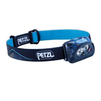 Petzl ACTIK - Lampada frontale blu